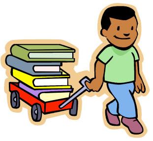 children s library rh buenapark lib ca us library book return clipart Library Book Border