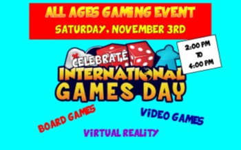 All Ages Gaming Event!